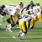 Rothlisberger Steelers handoff